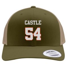 Blue Mountain State Thad Castle B 1950 Embroidered Retro Embroidered Trucker Hat