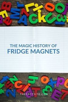 Fridge magnets are incredibly popular. Some people like to buy a new one everywhere they travel and showcase them to friends and family. Some like to use them to hang up photos, pictures or memos and others like to spell out words with magnet letters. Either way fridge magnets are so cool! But what are magnets? and where did fridge magnets come from? Let's take a look with this history of fridge magnets. Come check it out! #TheFactSite #Facts #Fridges #Refrigerator #FridgeMagnets #Magnets… Physics Facts, Learn Physics, Random Facts, Weird Facts, Fun Facts, Magnetic Poetry, Magnetic Letters, Simple Definition, Stick Photo