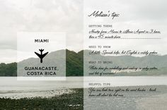 Guanacaste, Costa Rica - easy trip from Florida