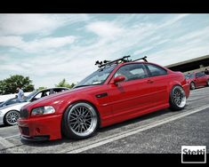 BMW M3 on BBS LM Wheels