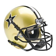 Vanderbilt Commodores NCAA Authentic Mini 1-4 Size Helmet