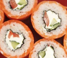 Interesting! Maybe the filling has some cucumber and paprika? Must try to make it! :)