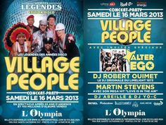 VILLAGE PEOPLE Concert in Canada 2013