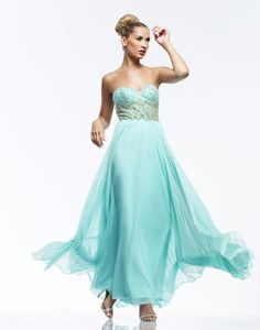 Riva Designs R9712 prom dress available in Seafoam; Cherry Red;