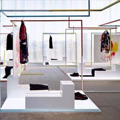 our Dior Homme SPRING MMXIV installation at Dior Omotesando in Tokyo