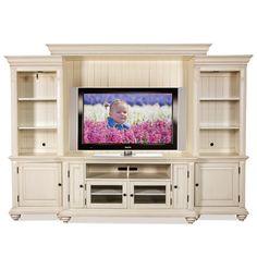 Riverside Furniture Addison Entertainment Center & Reviews | Wayfair
