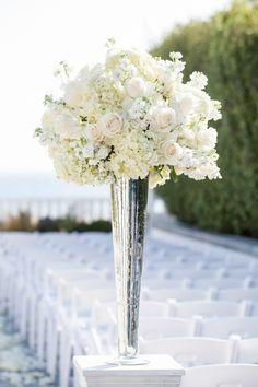 White Winter Wedding Centerpieces Ideas Event Centerpieces