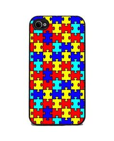 Autism Awareness Puzzle - iPhone 4 or 4s Cover by Insomniac Arts, http://www.amazon.com/dp/B0074YT7CW/ref=cm_sw_r_pi_dp_QJmTrb177K5FQ