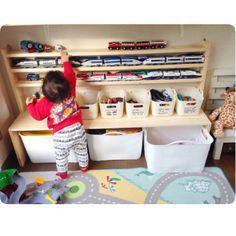教えて!ママたち おもちゃがかたづく収納のDIY術10選 | RoomClip mag | 暮らしとインテリアのwebマガジン