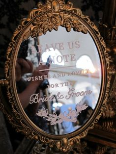 Guest Sign in Mirror