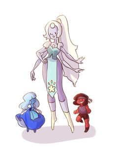 Opal. Ruby and sapphire. Steven universe
