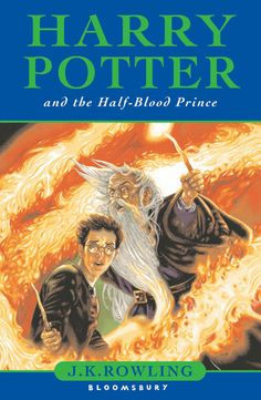U.K. cover art work for the Harry Potter and the Half-Blood Prince book