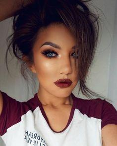 Makeup Tips For Dark Circles Ideas Make-up-Tipps für Augenringe Ideen Flawless Makeup, Gorgeous Makeup, Pretty Makeup, Love Makeup, Fall Makeup Looks, Dead Gorgeous, Winter Makeup, Glamorous Makeup, Spring Makeup