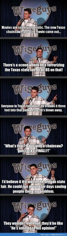 The problem with the Texas chainsaw massacre movies Texas vs Origan