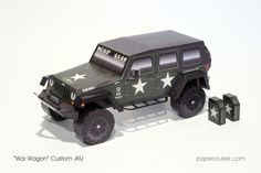 "Custom JKU Wrangler Unlimited: ""War Wagon"" 