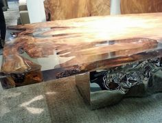 Riflessi in laguna Table by Riva 20 at imm cologne 2013 via www.thedesignsheppard.com