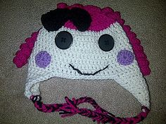 Ravelry: Lalaloopsy hat-Sugar Cookie pattern by Denisse Esparza