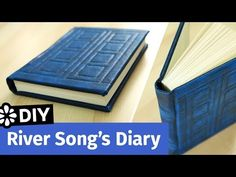 Doctor Who DIY River Song's Diary | TARDIS Journal | Sea Lemon - YouTube