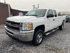 2012 Chevy Silverado 2500HD Ext Cab 4x4 Pickup Truck. 6.0L V8 Gas Engine, Automatic Transmission, Line X Bed liner, Power Windows, Power Door Locks, Tilt/Cruise, A/C, 177k Miles. One Owner Fleet Maintained PA Inspected. Call JT Auto Sales 717-619-7204, Call/Text 410-596-0596 www.yourtrucksforsale.com