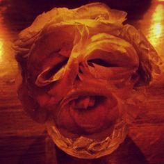 Spooky Flower Face