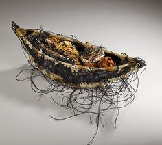 Boat Form by artist Shannon Weber of Oregon USA
