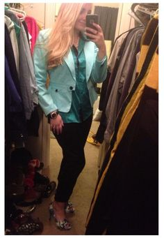 .dressed up Goodwill Jacket!