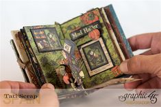 Tati, Hallowe'en in Wonderland - Deluxe Collector's Edition, Pop-Up Book, Product by Graphic 45, Photo 21