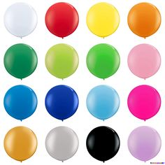 Riesenballons Freie Farbauswahl Ø 120 cm
