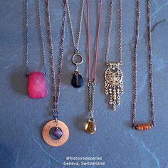 Necklaces with repurposed elements Costume Jewelry, Repurposed, Upcycle, Jewelry Accessories, Necklaces, Instagram, Unique, Handmade, Inspiration