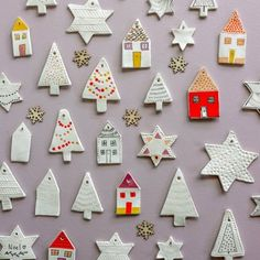 Try these Easy DIY Clay Decorations! Clay Christmas Decorations, Holiday Crafts, Holiday Fun, Christmas Ornaments, Christmas Clay, Homemade Christmas, Christmas Time, Best Christmas Gifts, Christmas Presents