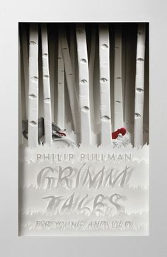 Grimm Tales: For Young and Old by Philip Pullman. Cover artwork by Cheong-ah Hwang