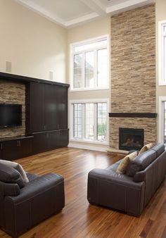 Fireplace Stone Frames Living Room Aus