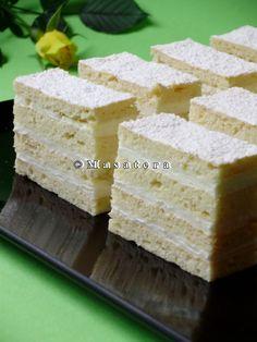 Recepti za Bijela pita-Jako lepa pita, deluje baš nežno, i tako ukusno! Baking Recipes, Dessert Recipes, Desserts, Kolaci I Torte, Torte Cake, Croatian Recipes, Sweets Cake, Cake Cookies, Vanilla Cake