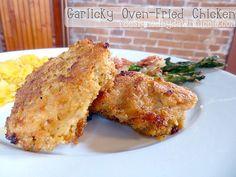 Garlicky Oven-Fried Chicken
