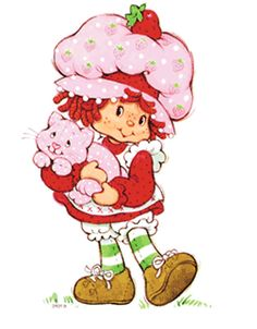Strawberry Shortcake | 11 Children's Characters With Questionable Makeovers. Basically they turned cute children's toys into ghastly, weird and sometimes just stupid new versions. Rainbow Brite looks like Britney Spears' little sister and Polly Pocket looks like her skin AND hair were acid-washed. Don't even get me started on Strawberry Shortcake because the one I grew up with, pictured, was perfect!