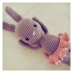 Häkelhase Handgemachte Häschen und Teddys in von lusBabyShop