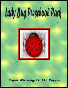 Lady Bug Preschool Pack