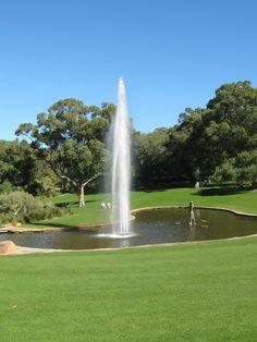Kings park fountain...