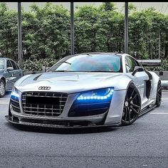 Audi R8 ------------------------------------------- Follow my friends:  @leftlaneautomotive @worldscoolestcars @nice_sick_cars @bestcarsevermade ------------------------------------------- #wide #custom #fast #stance #carstagram #slammed #exotic #supercar #driver #exoticcar #race #racing #carswithoutlimits #dumped #dropped #dope #dopecars #sexy #motorsports #luxury #redline