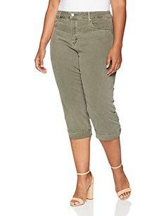 18e6820fdf0 Great for NYDJ NYDJ Women s Plus Size Marilyn Crop Cuff womens Jeans.    31.15 -