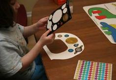 kids astronaut space helmet craft/mask. Decorate with markers, stickers etc