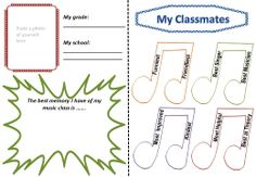 MY MUSIC CLASS MEMORY BOOK is an interactive memory book for the end of the year! Your students will have something to look back on their favorite class - music! $