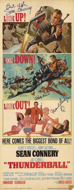 """Tunderball"" with Sean Connery,   Adolfo Celi, Luciana Paluzzi"