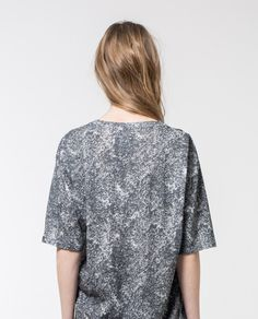 5fefcebb This is a texture printed tee designed and made in Barcelona by Local  Pattern. This texture print tee has a skater fit. Local Pattern is a  sustainable and ...