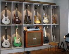 Some impressions from our shop in Kaiserslautern, Germany - ZEAL Guitars