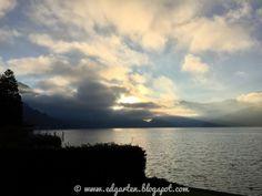 Edgarten - Gartenblog: 👁 12tel Blick Seeenge Nas - kühler November Celestial, Sunset, Outdoor, Photos, Places, Sunsets, Outdoors, Outdoor Games, The Great Outdoors