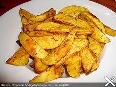 Fettarme Kartoffelspalten aus dem Ofen, ein raffiniertes Rezept aus der Kategorie Kartoffeln. Bewertungen: 251. Durchschnitt: Ø 4,6.