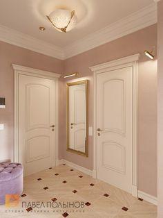 Фото интерьер холла из проекта «Дизайн однокомнатной квартиры 48 кв.м. в классическом стиле, ЖК «Жемчужный фрегат» »
