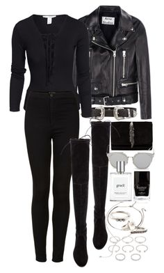 """""""Untitled #10855"""" by theleatherlook ❤ liked on Polyvore featuring mode, B-Low the Belt, Forever 21, Acne Studios, NLY Trend, Topshop, Stuart Weitzman, Zara, GANT et philosophy"""