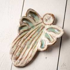 Etta B Pottery Christmas Medium Angel